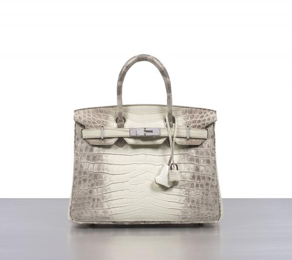 Vente Hermès summer collection, lot 1025 : HERMÈS - 2014 - Sac BIRKIN HIMALAYA 30 cm. Adjugé frais inclus : 69 960€